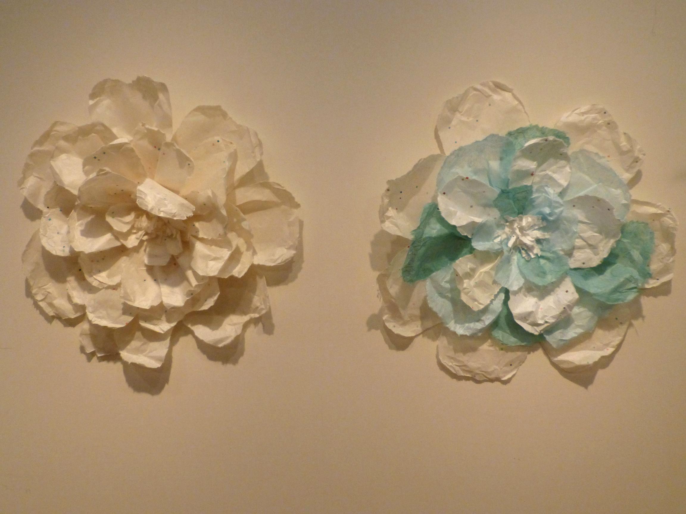 花 千葉すずさんの「石州和紙デザインコンペ」特別出品作品 作品名:花 (石... 千葉すずさんを